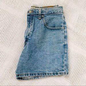 A&F | Vintage Denim High Rise Shorts Sz 2